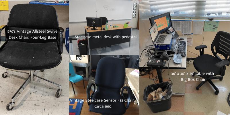 Classroom ergonomics