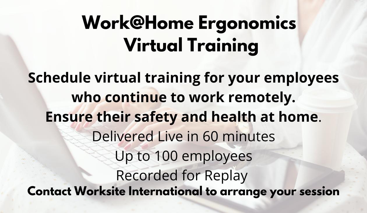 Work@Home Ergonomics Virtual Training