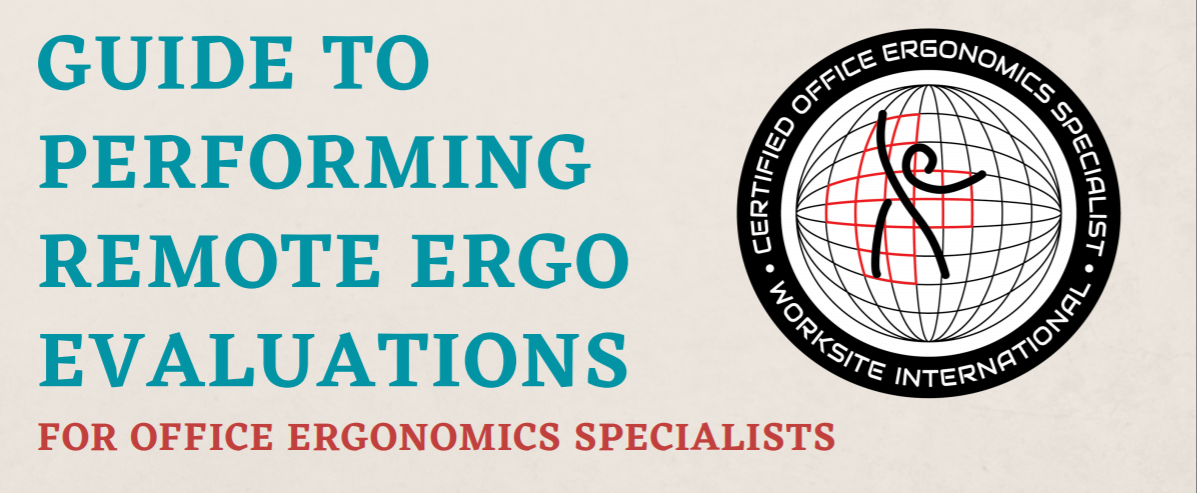 Guide to Performing Remote Ergo Evaluations
