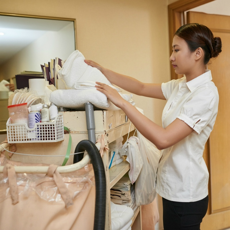 Preventing Work Injuries for Hotel Cleaning Staff®
