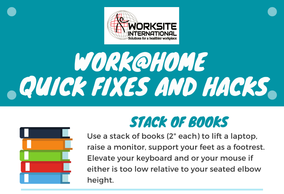 Read: Work@Home Quick Fixes and Hacks